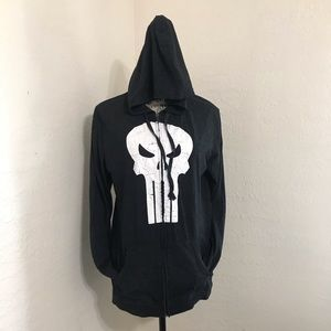 Marvel Legend Punisher full zip hoodie
